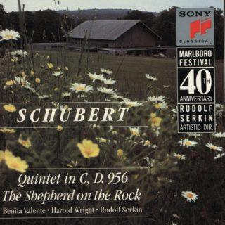 Marlboro Fest 40th Anniversary – Schubert
