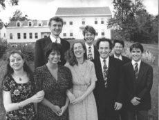 "1990-91 | ""Crazy 8s"" is what this group, playing Mendelssohn's Octet, Op. 20, called themselves after the first of three tours together.  Naomi Katz, Pamela Frank, Ulrich Eichenauer, Julia Lichten, Scott St. John, Gustav Rivinius, Ivan Chan, and Eric Grossman."