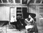 """Rehearsals with him were mindblowing. Not because he was famous but because he never said a word. He just wanted to play over and over and over. Communication was not with your mouth but through your instrument."" –Pamela Frank 