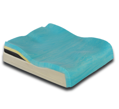 Contoured Foam Base with Lateral Pelvic Support