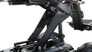 3.2mph @ 14″ of Seat Elevation w/Full Suspension