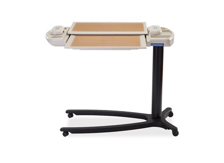 Hill Rom Art of Care Overbed Table Features