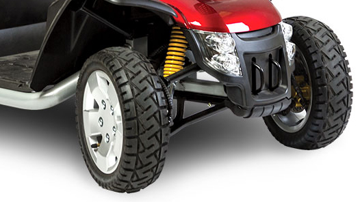 "13"" Low-Profile Tires"