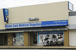 Sherman Oaks Medical Supply Store Front
