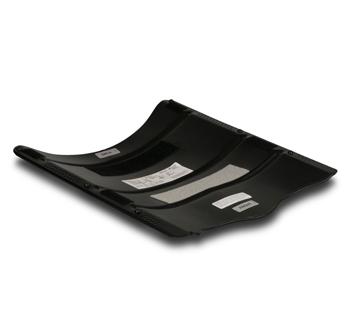 Contoured, Aluminum Seat Pan
