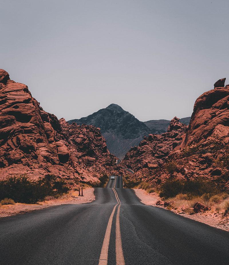 Redrock landscape