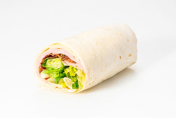 Roasted Turkey Bacon Wrap