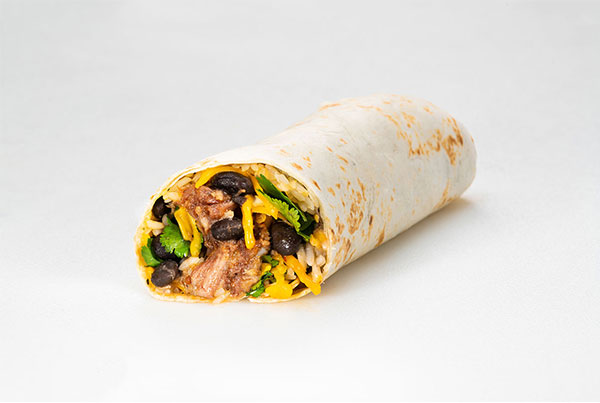 Sweet Pork Burrito
