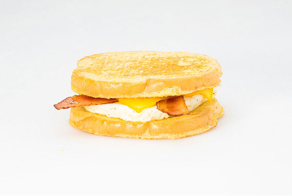 Bacon, Egg, & Cheese French Toast Sandwich