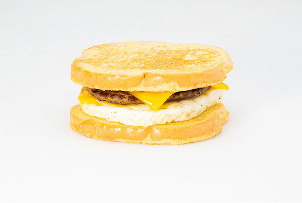 Sausage, Egg, & Cheese French Toast Sandwich