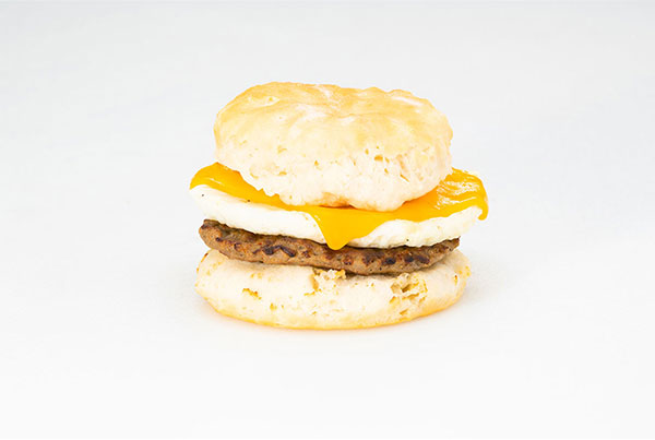 Sausage, Egg, & Cheese Biscuit