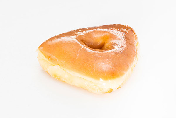 Madbrook Triangle Glazed Donut