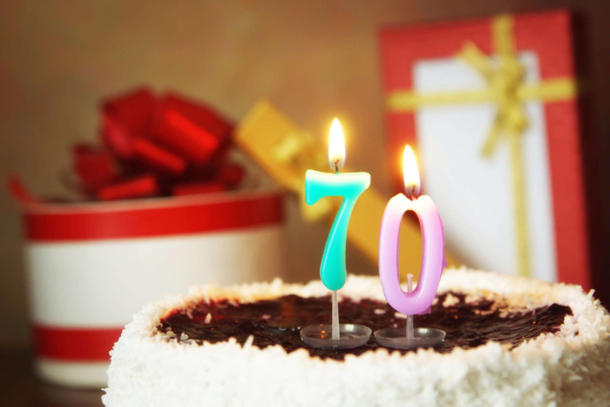70 Bday Cake