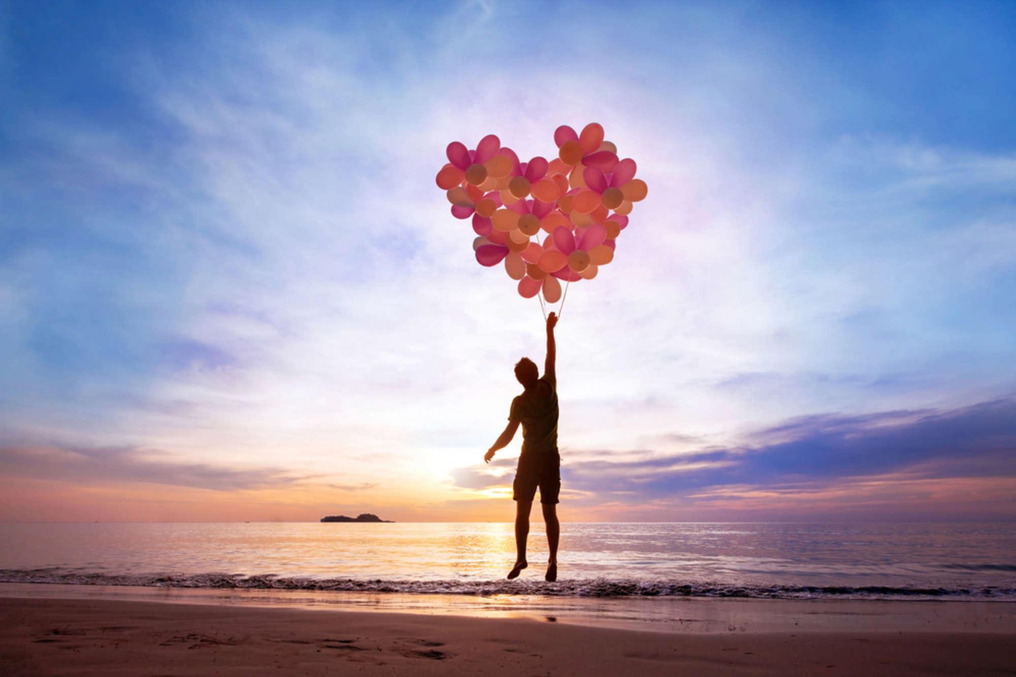 Balloons Love Light