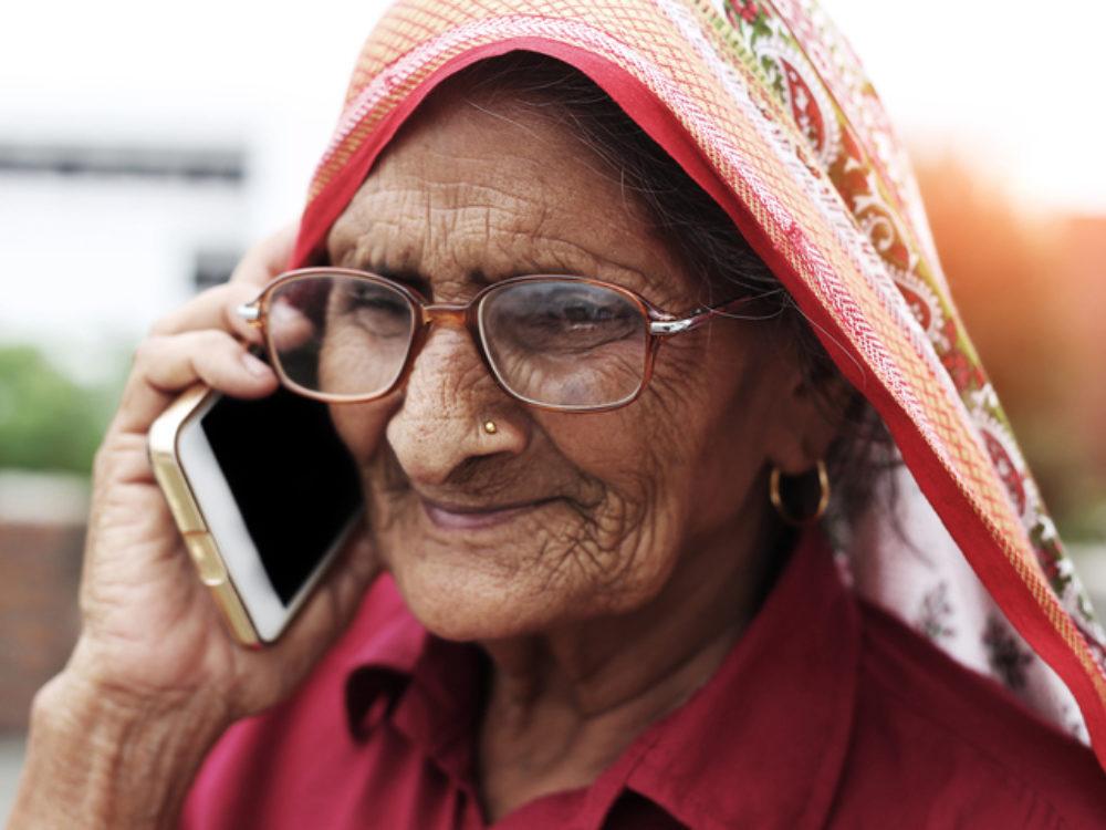 Woman Phone