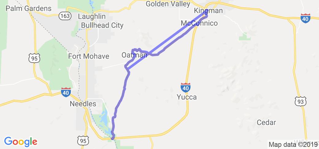 Map Of Arizona Kingman.Old Route 66 South Of Kingman In Arizona Arizona Motorcycle Roads