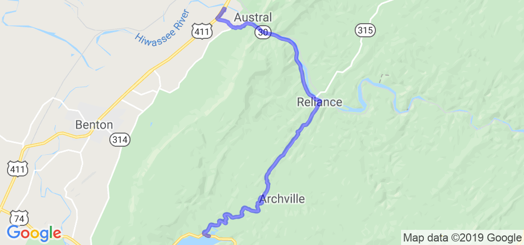 Backroads of Ocoee in Tennessee | Tennessee Motorcycle Roads and ...