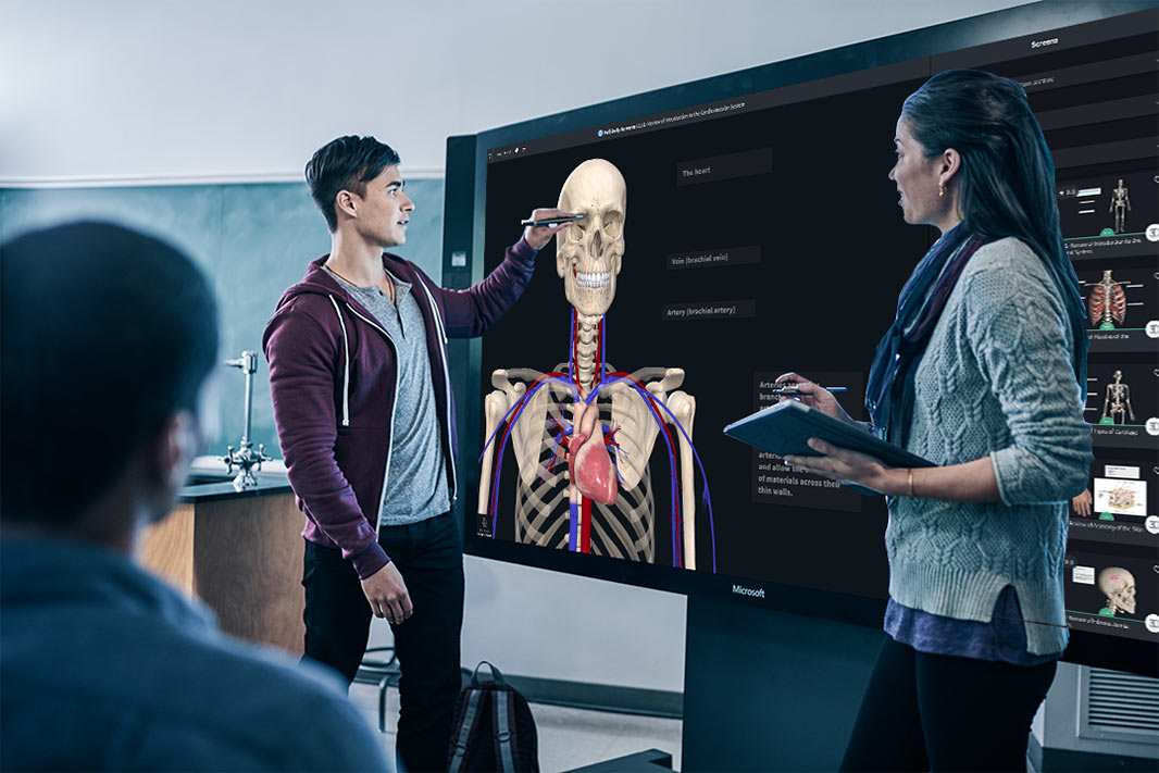 Microsoft Surface Hub for Educators
