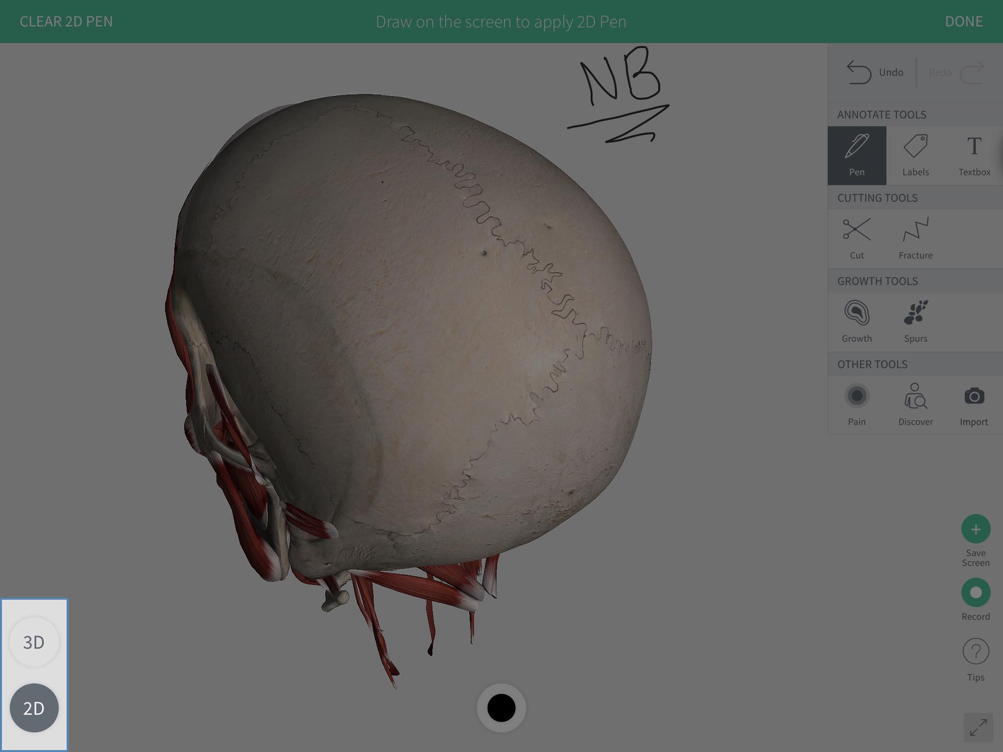 Toggle 2D 3D