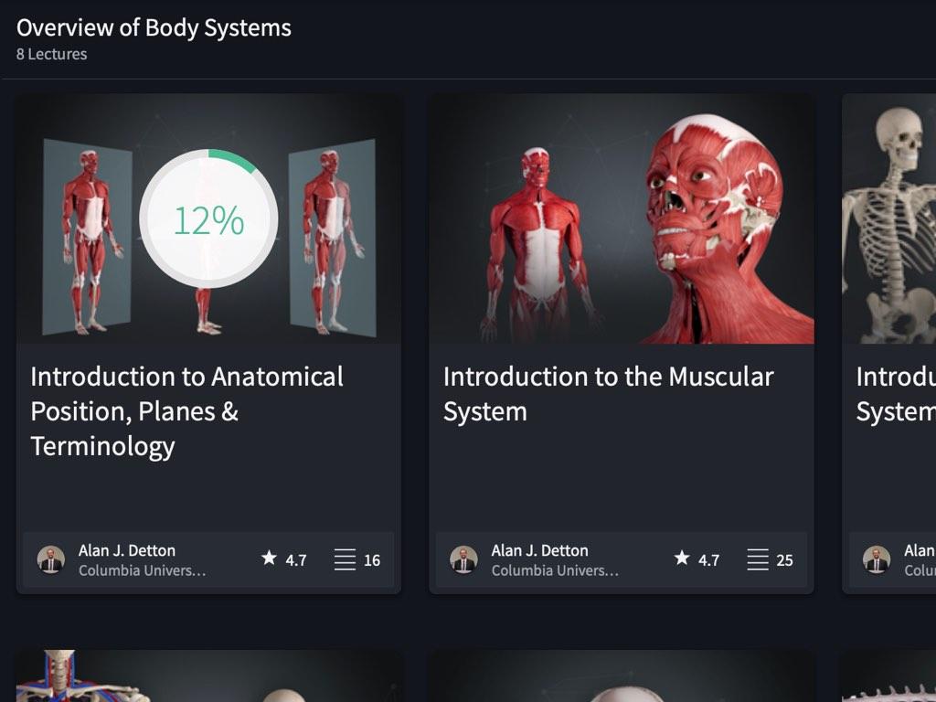 Undergraduate Human Anatomy 3d4medical