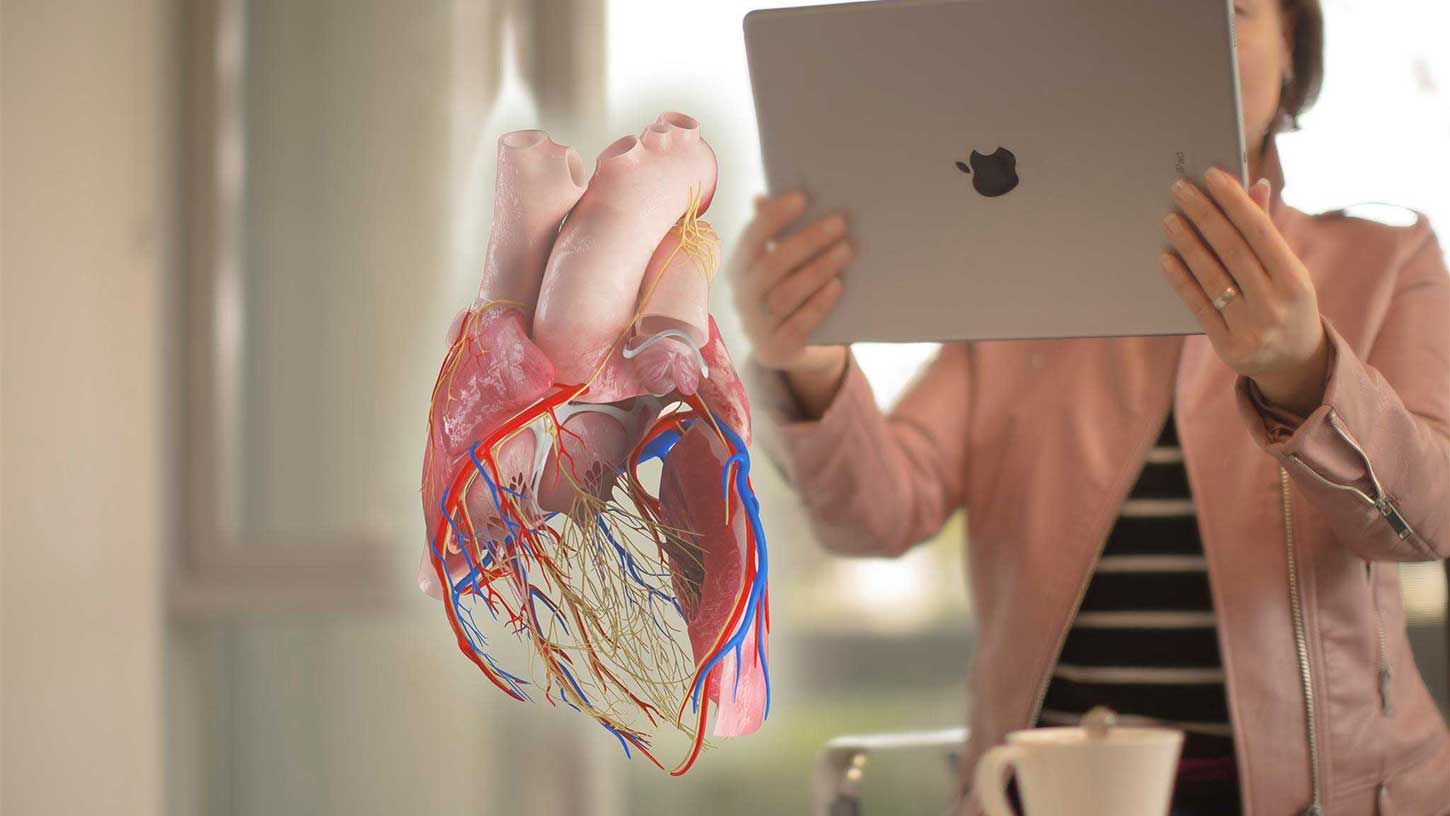 complete heart augmented reality