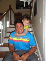 adoptive family photo - Brent