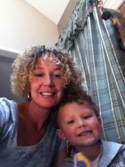 adoptive family photo - Kimberley