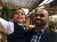 adoptive family photo - Paulo