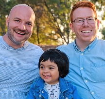 Tim & Sean - Hopeful Adoptive Parents