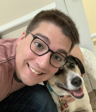 adoptive family photo - Dan