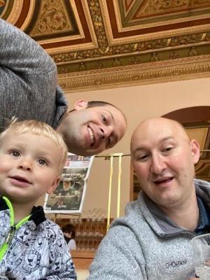 photo of adoptive family's story