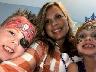 adoptive family photo - Andrea