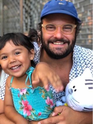 adoptive family photo - Jay