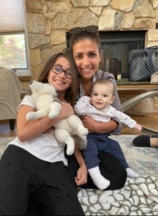 adoptive family photo - Joann