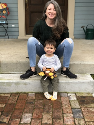 adoptive family photo - Leah