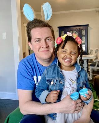 adoptive family photo - Sean