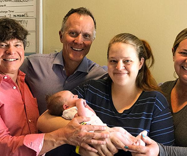 adoption success story - New Lives for Mother, Daughter, and New Dads