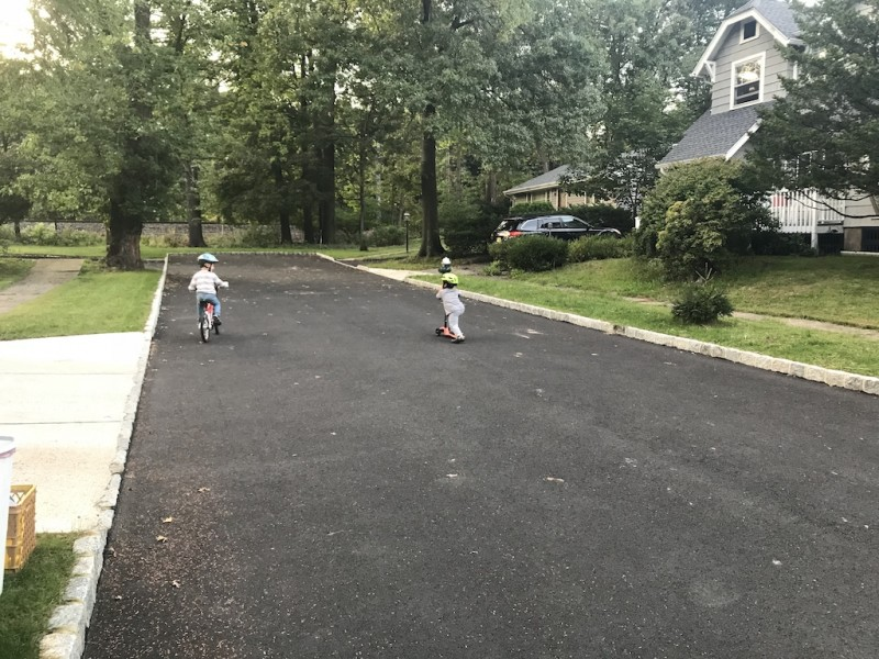 Playing on our dead-end street