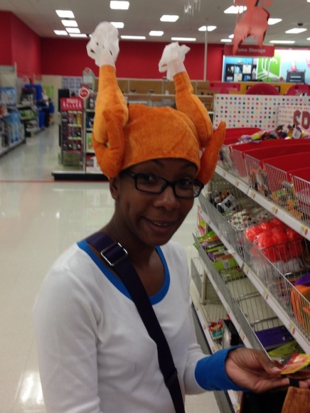 Everyone should have a turkey hat