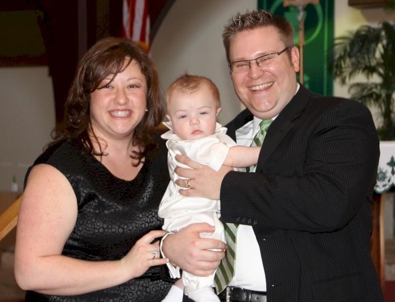Aiden's Baptism