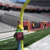 Kristia on the field at TCF Stadium.  Go GOPHERS!
