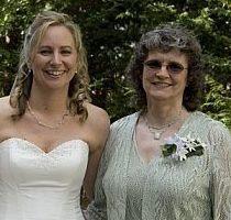 Barbi Jo and her mom. Kids call her Bama Jo
