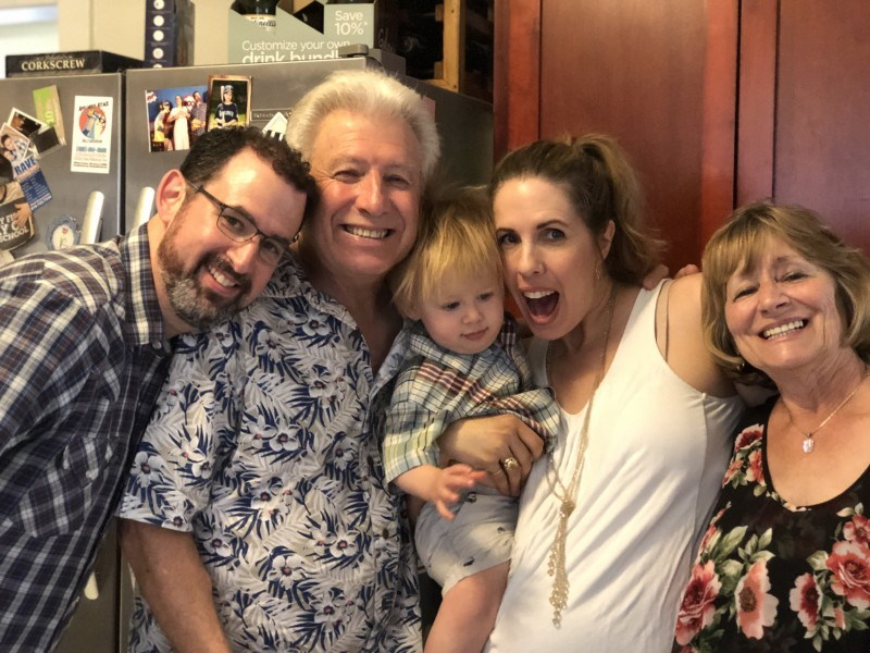 Birthday party with Devon's parents