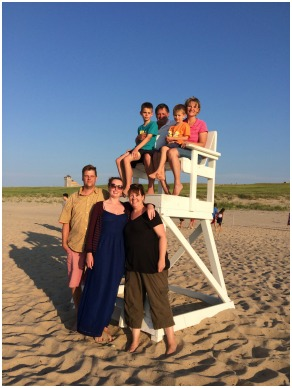 Family vacation on Cape Cod