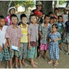 With schoolkids in Burma--can you find me?
