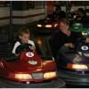 Bumper cars with Matthias