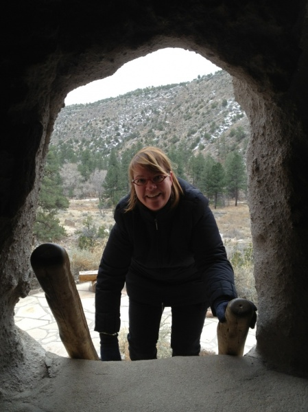 Bandelier Cliff Dwellings near Santa Fe