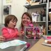 Sticky art lab masterpiece with Eva