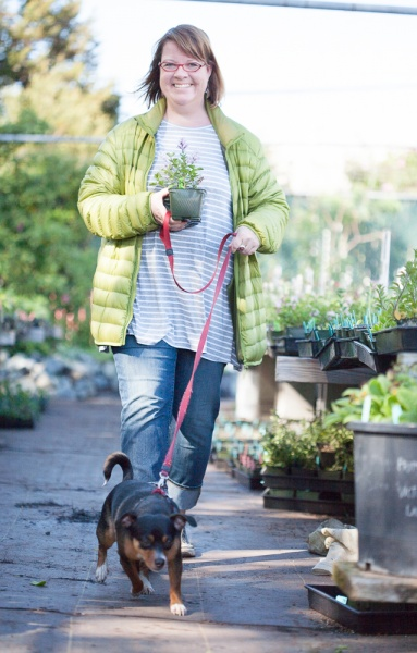 Plant shopping with Bodhi