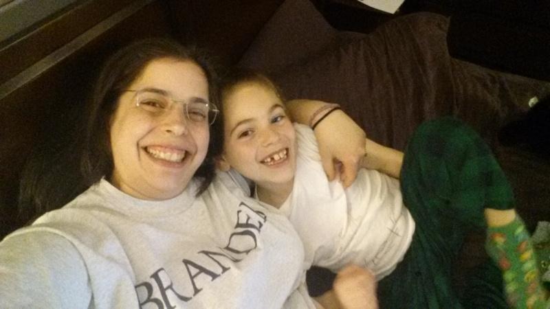 Mother-son Selfie